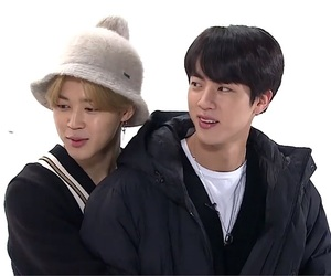 bts, gif, and jin image