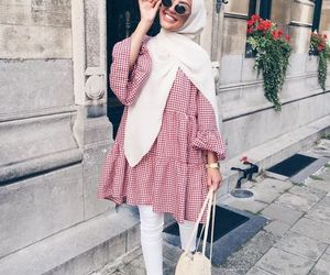 hijab and ootd image