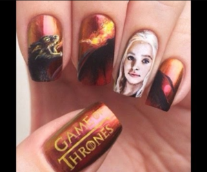nails, got, and game of thrones image