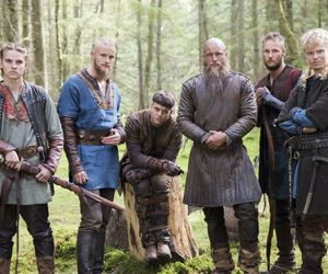 vikings, hvitserk, and bjorn image