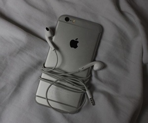 aesthetic, grey, and head phone image