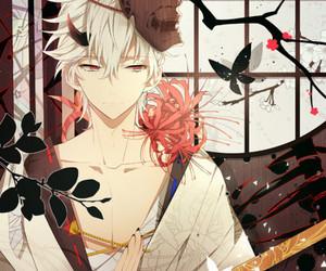 anime boy, sakata gintoki, and gintama image