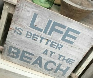 beach, phrases, and life image
