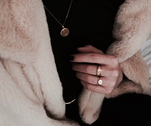 fashion, indie, and fur image