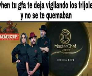 cocina, meme, and frijoles image