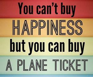 buy, happiness, and plane image