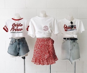 clothes, fashion, and tee image