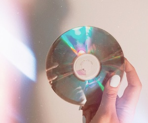 cd, grunge, and white image
