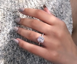 girl, ring, and girly image