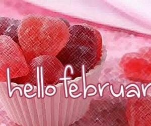 happy valentine's day, hello february, and 2018 image
