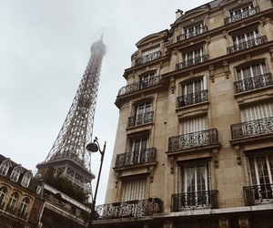 city, france, and french image