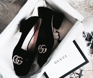 gucci, fashion, and shoes image
