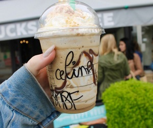 drink, starbucks, and yummy image