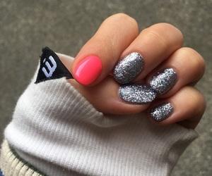 nail, キラキラ, and ネイル image