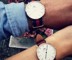 fashion, watch, and love image