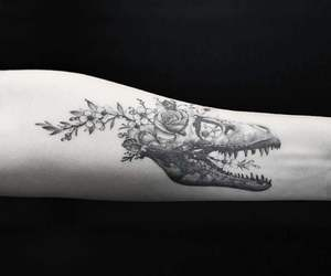 animal, arm, and art image