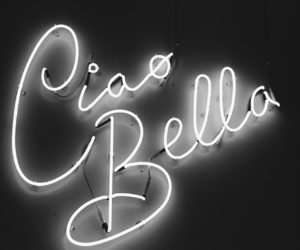 beautiful, ciao bella, and quotes image