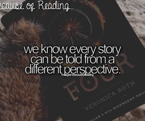 because of reading... image