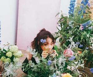 ioi, chungha, and flowers image