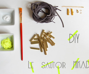 diy, do it yourself, and jewelry image