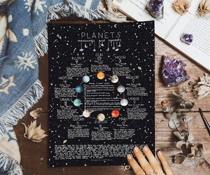 aesthetic, art, and astrology image