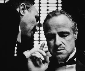 The Godfather, marlon brando, and godfather image