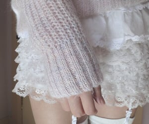 beige, lace, and ddlg image