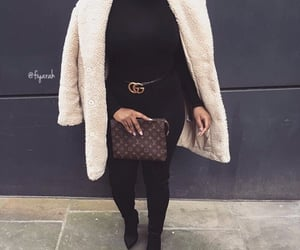 fashion style, winter hiver, and coat manteau image