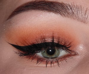 autumn, brow, and eye image