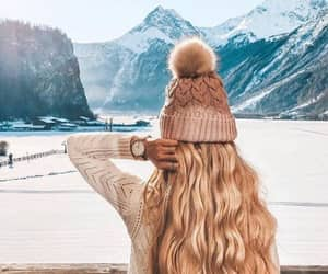 winter, fashion, and beautiful image