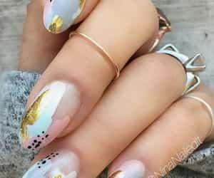 accessories, nail, and nail art image