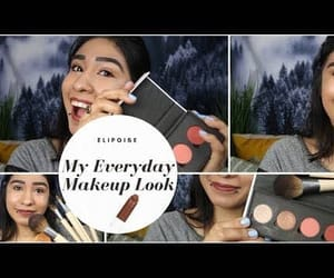 make up, youtube, and video image