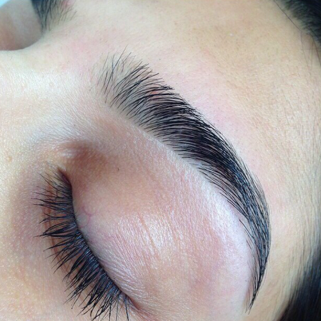 eyebrows, perfect, and makeup image