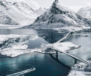 cold, white, and landscape image