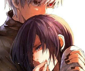 couple, touka, and tokyo ghoul image