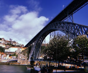 nature, ponte, and portugal image