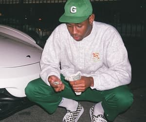 money, checkered vans, and tyler the creator image