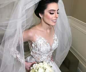 beauty, bridal, and bride image