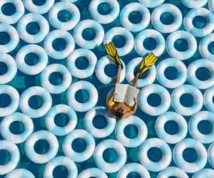 blue, pool, and babyblue image