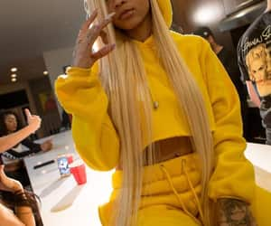 yellow, blonde, and cuban doll image