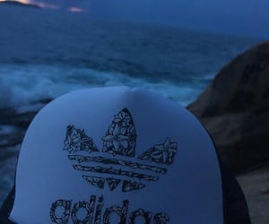 adidas, blue, and pale image