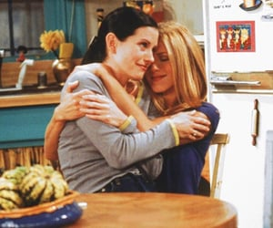 friends, rachel green, and monica geller image