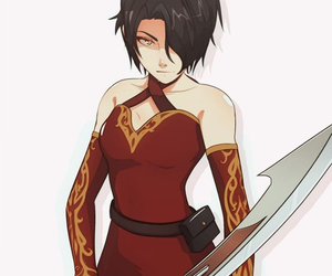 anime, cinder, and anime girl image