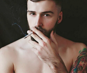 bearded, guy, and handsome image