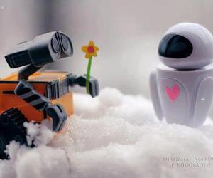 eva, walle, and pixar image