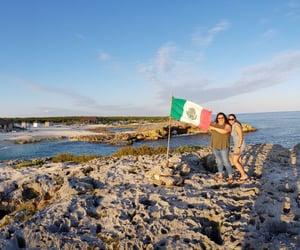 paraiso, bandera de mexico, and cancún image
