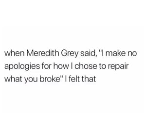 apologize, broke, and choose image