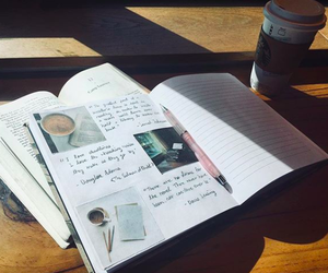 coffee, diy, and journal image