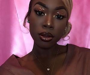 eyebrows, gloss, and glossy image