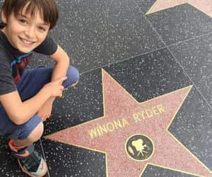 stranger things, noah schnapp, and winona ryder image
